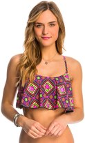 Betsey Johnson Swimwear Bohemian Rose Bralette Bikini Top 8140754