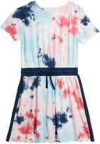 Splendid Girl's Tie Dye Jersey Dress, Size 7-14