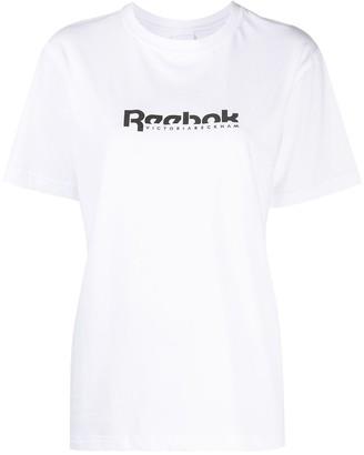Reebok x Victoria Beckham logo-print T-shirt