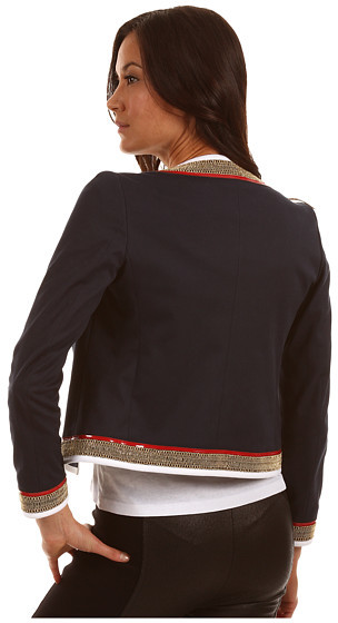 DSQUARED2 Contrast Trim Jacket