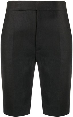 Mrz Pleated Detail High-Waisted Shorts