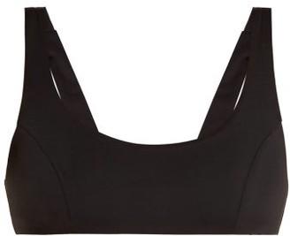Dos Gardenias - Bandito Bikini Top - Womens - Black