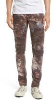 Rock Revival Men's Skinny Fit Moto Jeans