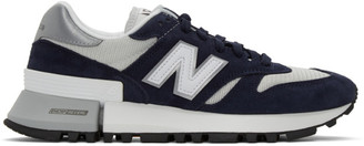 New Balance Navy and Grey 1300 Sneakers