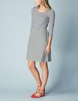 Boden Janie Dress Grey Marl/Navy Women