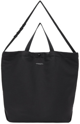 Engineered Garments Black Cotton Carry-All Tote
