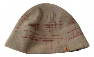 Kangol Beige Wool Hats