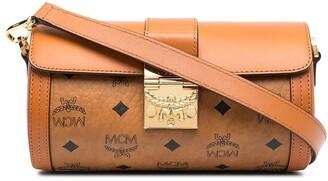 MCM Logo-Print Crossbody Bag