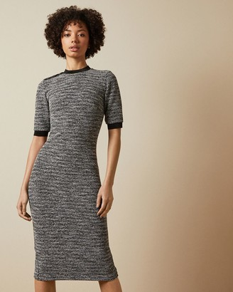 Ted Baker Boucle Bodycon Dress