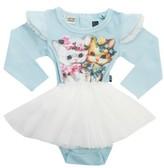 Rock Your Baby Infant Girl's Lulu & Lola Circus Tutu Bodysuit