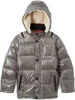 Diesel Silver Down Puffer Jacket - Toddler & Boys