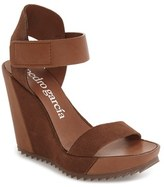Pedro Garcia Women's Vivien Strappy Platform Wedge Sandal