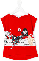 Little Marc Jacobs printed T-shirt - kids - Cotton/Modal - 8 yrs