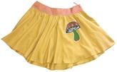 Miu Miu Yellow Cotton Skirt