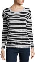 Liz Claiborne Kangaroo-Pocket Pullover