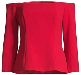 Trina Turk Refined Off-the-Shoulder Top
