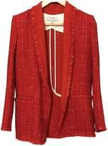 IRO Fall Winter 2019 Red Wool Jackets
