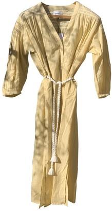 Polder Yellow Cotton Dress for Women