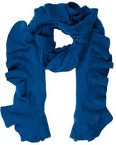 Magaschoni Ruffled Cashmere Scarf