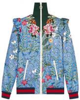 Gucci Veste en jersey brodée à