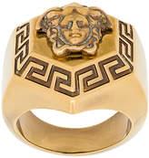 Versace medallion Medusa finger ring