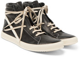 Rick Owens - Thrasher Leather High-top Sneakers