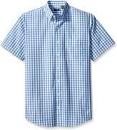 Arrow Men's Big-Tall Short Sleeve Hamilton Poplin Shirt