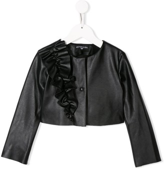 MonnaLisa Ruffle Detail Jacket