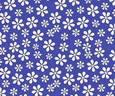 Graco SheetWorld Fitted Pack N Play Sheet - Primary Royal Floral Woven - Made In USA - 27 inches x 39 inches (68.6 cm x 99.1 cm)