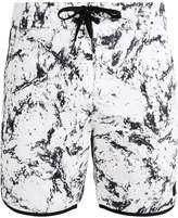 DC BURLISON Swimming shorts white storm