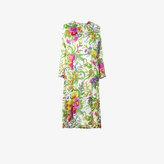 Balenciaga slide floral print dress