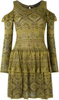 Cecilia Prado cold shoulder knit dress