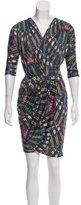 Mara Hoffman Silk Pattern Printed Mini Dress