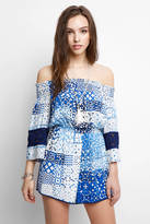 Plenty by Tracy Reese Off-Shoulder Romper