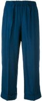 P.A.R.O.S.H. cropped trousers - women - Silk - M