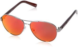 Calvin Klein Men's R363S Aviator Sunglasses