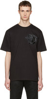 Markus Lupfer Black Sequin Tiger T-shirt