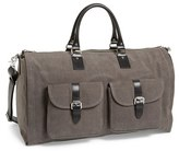hook + ALBERT Men's Canvas Garment/duffel Bag - Grey
