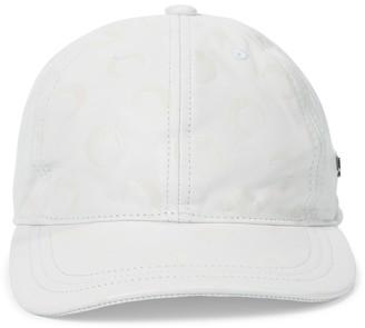 Marine Serre Exclusive to Mytheresa Leather baseball cap