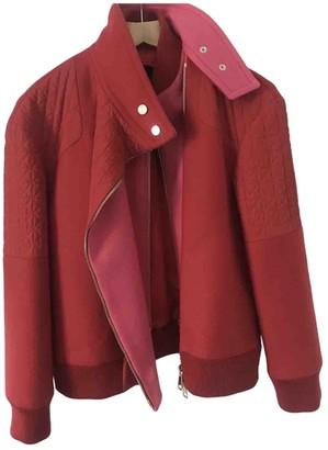 Tara Jarmon Red Wool Jacket for Women