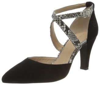 Bugatti Womens 411901703438 Ankle-Strap Black Size: 6.5 UK