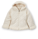 Hawke & Co Milk Shake Reversible Quilted Jacket - Girls