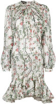 Giambattista Valli floral georgette ramage dress