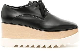 Stella McCartney Elyse Lace Up Platform Shoes