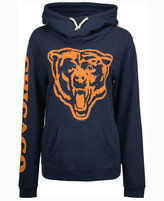 Junk Food Clothing Women's Chicago Bears Logo Funnel Hoodie