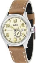 Avi 8 Tan Flyboy Centenary Watch