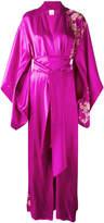Carine Gilson lacy long kimono