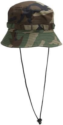 New Era EXPLORER CAMO COTTON BUCKET HAT
