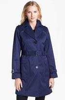 Gallery Belted Trench Coat (Regular & Petite) (Nordstrom Online Exclusive)