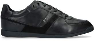 HUGO BOSS Low Top Leather Sneakers